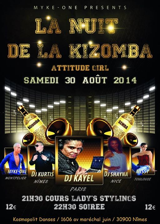 30 août 2014 - La nuit de la kizomba à Nimes
