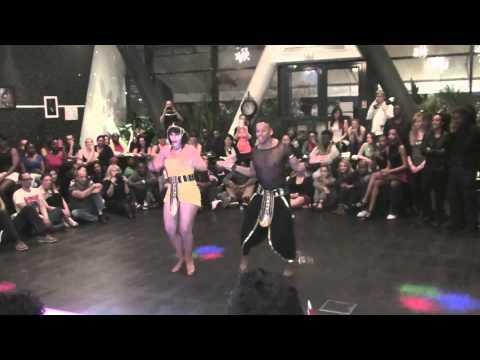 AfricaDancar 2014 - Finale France | Chris Py & Elodie | Show