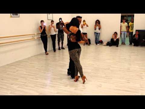 Demo Kizomba - Chris Py et Elodie Remix Zaho - Touner la page
