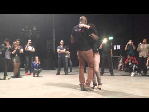 Kizomba workshop with Na Passada, Amsterdam Salsa Festival, 2014