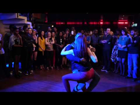 Lights On Kizomba Demo Tony Pirata & Sophie Fox SK 2014