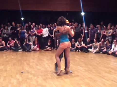 Lydia & Comes - Sexy Kizomba Tarraxa Semba Improvisation - Freiburg