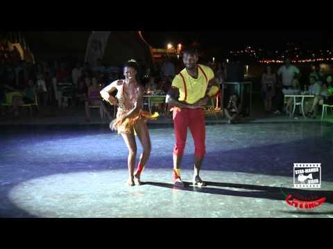Tony Pirata & Aurélie - KIZOMBA show @ Tabarka Latino Days 2012