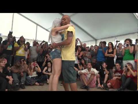 Kizomba Tarraxinhia with Albir and Sara at Kizomba Swimming Festival