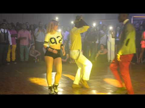 Sara Lopez Dancing Kizomba at Bario Latino WTC 19 Juli'14
