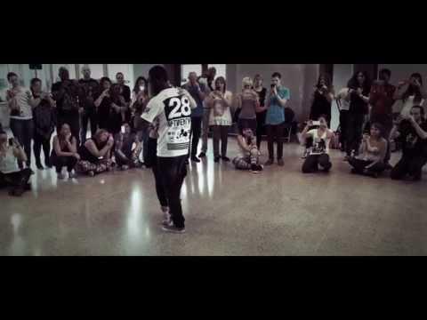 "Sara Lopez et Curtis Seldon ""Liége Open Kizomba Festival"" Music JAYO & SAMYSAM-Cara Podre 2014"