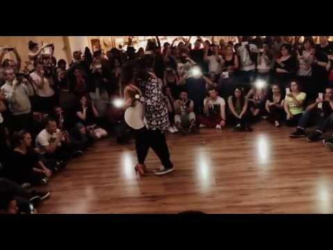 "Curtis and Gigi ""Flowcurt"" Paris Kizomba Congress 2014 Music ""Talk Shit"" Elji Beatzkilla"
