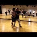 Demo kizomba class chris py elodie catena Dubaï