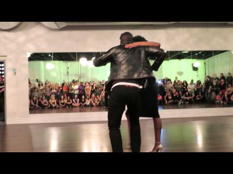 Manuel & Flavie (Kizomba) at the Island Touch night on January 3rd 2015
