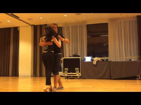 After Class Kizomba Demo - Kristofer & Teresa at Nordic Salsa Experience