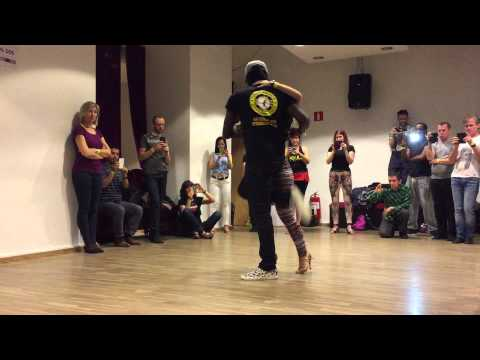 Bachatart Sweden 2015 - Kizomba by Enah & Carolina