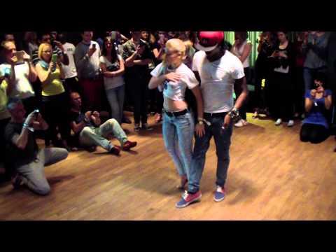 Frankfurt Salsa Festival 2015 Enah & Carolina Kizomba Attitude
