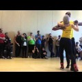 Marc Brewer Kizomba Demo with Sara Lopez at Vancity SBK 2015