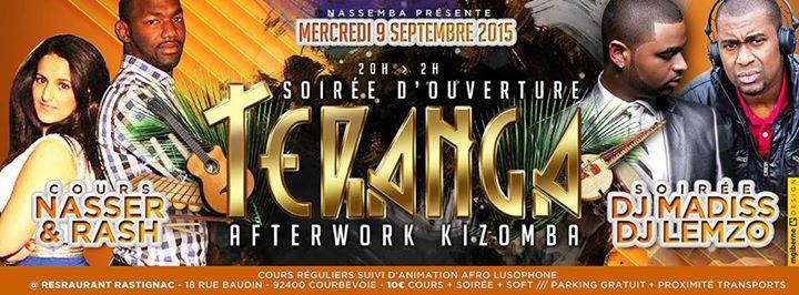 Soirée d'ouverture Teranga : After Work Kizomba