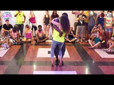 CRIOLA BEACH FESTIVAL 2015: YANIS & LARA kizomba class