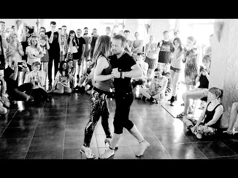 Kizomba Fusion - After Class Demo - Kristofer Mencák & Yuliya Volkova