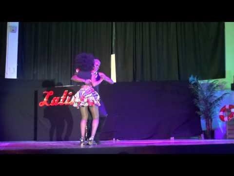 Représentation Kizomba Kossi & Laïha au Gala Just Latino juin 2015