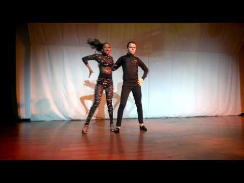 Amazing performance kizomba Nuno and Nagyla Galvao- ta fixe 2014