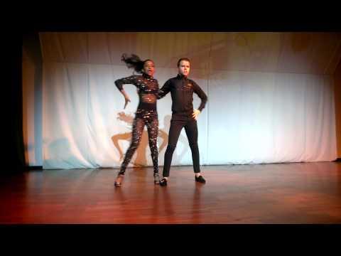 Amazing performance kizomba Nuno and Nagyla Galvao- ta fixe 2014