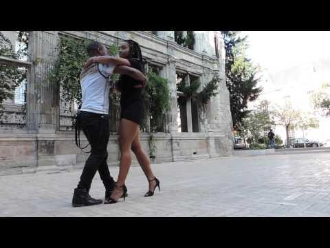 Sensual Kizomba dance - improvisation by Jovany&Clemence